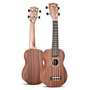 Matata - (UK21/SP) Sperrholz Mahagoni Pineapple Ukulele mit Tasche / Picks