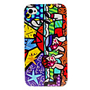 Cartoon Children Pattern Hard Case for iPhone 4 and 4S