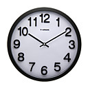 13,75 &quot;Classic Wall Clock in Metal