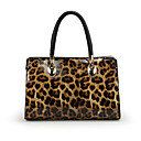 Women's Trendy Candy Color Fake Crocodile Tote
