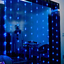 2Mx1.6M Blue LED String Lamp with 120 LEDs- Christmas & Halloween Decoration (Star)