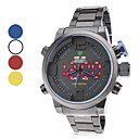 Herren Wrist Alloy Analog - Digital Multi-Movement Watch (Black)
