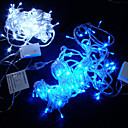 10M Seven Colors Plum Blossom LED String Light with 20 LEDs (Use battery)