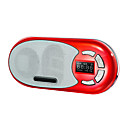 UN-99 Crystal transparent crystal texture, small running portable card speaker