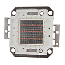 DIY 20W 800-1000LM Red Light 620-625NM Square Integrated LED Module (20-22V)