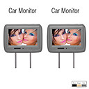 9 monitor do carro polegadas Headrest com controle remoto (1 par)