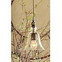 60W E27 Pendent Light with Glass Shade