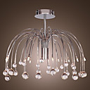 K9 Crystal Chandelier in Firework Shape Chrome Finished