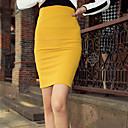 Women's High Waist Stretchy Bodycon Rok