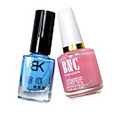BK Nail Art Gift Bag of Base Coat within Ca and Noctilucent Nail Polish with Assorted Colors