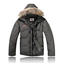 AD-2175 Waterproof VALIANLY Outdoor Men's Skiing Down Jacket