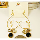 Women's Pearl Gem Lovely Earrings