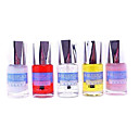 Blueplace Nail Systems of Softener,Base Coat within Ca,Top Coat,Nail Saver and Vitamin E Polish (5PCS)