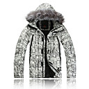 AD-2167 Waterproof VALIANLY Outdoor Men's Skiing Down Jacket