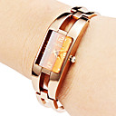 Women's Hollow Style Alloy Analog Quartz Bracelet Watch (Bronze)