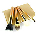 4Pcs Golden High Quality Brush Set