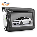 8 polegadas 2Din DVD do carro para CIVIC 2012 com GPS, Canbus, TV, jogos, Bluetooth