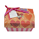Se Gift Box With Heart Print Und Ribbon Bow