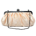 Elegant Satin with Crystal Evening Handbag/Clutches(More Colors)