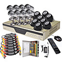 ultra lage prijs 16ch h. 264 cctv dvr kit (1000 GB hdd, 16 sony nachtvisie camera's)