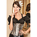 Satin Strapless Front Busk Closure Special Occasion Corsets