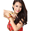 Performance Dancewear Alloy Flower Design Belly Dance Bracelet For Ladies More Colors(1 Piece)
