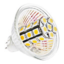 MR16 5W 27x5050 SMD 400-420LM 3000-3500K Warm White Light Bulb Milho LED (12V)