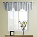 Modern Gray Ascot Valance