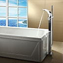 Sprinkle by Lightinthebox - Chrome Finish Single Handle Centerset Bathtub Faucet