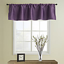 Classic Purple Tailored Valance