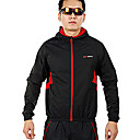 INBIKE Series Ployester+Spandex Material Long Sleeve Windproof Man Cycling Jersey Suit QG014