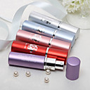 Personalized Floral Design Alloy Perfume Bottle - Set of 4 (Mixed Color)