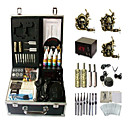 3 Guns Complete Empaistic Tattoo Machine Set with LCD Power Supply