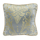 Country Light Blue Floral Decorative Pillow Cover