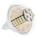 MR16 5W 120x3528 SMD 400-420LM 3000-3500K Warm White Light Bulb Milho LED (12V)