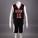Cosplay Costume Inspired by The Basketball Which Kuroko Plays Kuroko Tetsuya Seirin High School Basketball Team Uniform Black NO.11