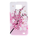 Plum Blossom Funda para Samsung I9100 Galaxy S2