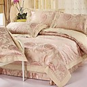 Elegant Rose Full / Queen 4-Piece Duvet Cover Set