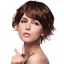 High Quality Synthetic Short Curly Brown Hair Wigs 3 Farben zur Auswahl