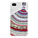 Girl Pattern Hard Case for iPhone 4 and 4S