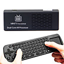 MK808 Android TV Box 1 GB RAM / 8 GB HDD RK3066 1.6GHz Cortex-A9 dual core + RC12 2.4GHz Wireless Keyboard Air Mouse
