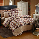 Leonard Print Full 4-Piece Duvet Cover Set