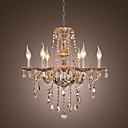 Crystal Chandelier with 6 Lights