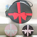 Handmade Gift Package PU Leather Sweet Lolita Bag with Bow