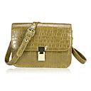 Fashion Leather Alligator Print Casual Shoulder Handbag(More Colors)