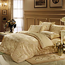 Austin Jacquard Full / Queen 4-Piece Duvet Cover Set