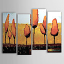 Hand-painted Oil Painting Abstract Set of 4 1302-AB0306