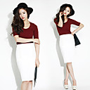Women's Pencil Skirt (Slim Fit)