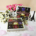 Lovely Chocolate Shaped Candle Favor (Set of 9 Pieces)