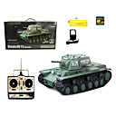 1:16 RC Tank Radio Soviet KV-1 Additional Armored Tanks Remote Control Smoke Sound Tanks Toys